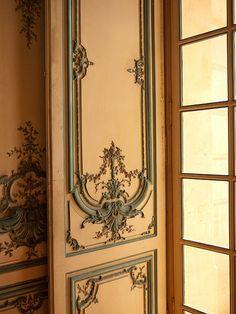 Library door, Private Mansion, Paris