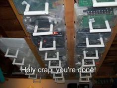 (29) Ceiling Storage Solution - YouTube