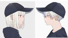 Cute Couple Drawings, Anime Couples Drawings, Cute Anime Couples, Escape Movie, Manga Anime Girl, My Demons, Cute Cartoon Wallpapers, Hatsune Miku, Bffs