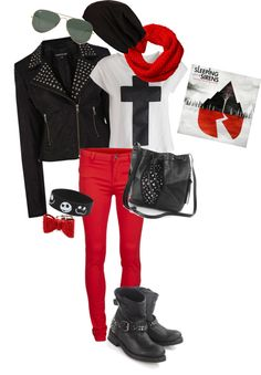 """rocker girl"" by bmxgirl96 on Polyvore"