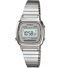 6276e0c92c4 relogio casio la670 prata c cinza retrôvintage la 670 a168 Vintage Watches  Women