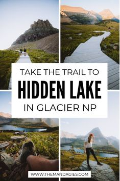 Hidden Lake Lookout is an epic hike in Glacier National Park with stunning mountain views! It's an easy hike in Glacier NP, and we're spilling all the details! What to expect, best photo spots, and so much more. Save for your next Montana vacation! Glacier Montana, Glacier National Park Montana, Glacier Np, Places To Travel, Places To Go, Travel Destinations, National Parks Usa, Best Hikes, Travel Usa
