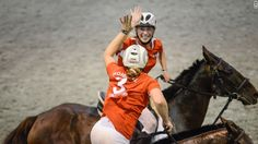 'Horse quidditch' seeks place in Olympics