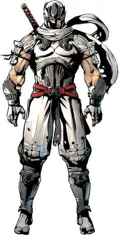 Ninja Gaiden: Ninja Gaiden Sigma 2 : Ryu Hayabusa in white Power Rangers, Comic Character, Character Design, Ryu Hayabusa, Ninja Sword, Ninja Gaiden, Ninja Art, Dc Anime, Monsters
