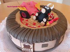 Soy tu Cupcake by Lorena : Gran reto: Tarta Plaza de Toros