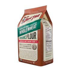 Organic Whole Wheat Flour :: Bob's Red Mill Natural Foods not enriched