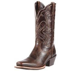 Ariat Brown Legend Cowgirl Boots