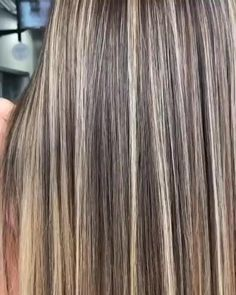 - All For Hair Color Balayage Brown Hair With Blonde Highlights, Blonde Hair Looks, Hair Highlights, Ash Blonde Hair, Ombre Hair Brunette, Natural Ash Blonde, Belliage Hair, Rebonded Hair, Hair Color Balayage