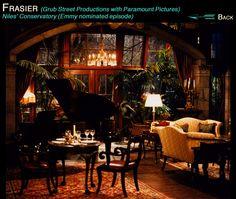 Nile S Living Room In The Tv Show Fraiser