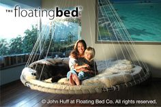 Round Bed, Hanging Daybed Styles and Settings | The Floating Bed Co