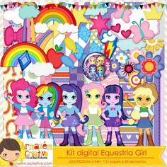 Kit digital Equestria Girl