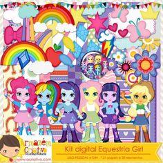 Kit digital Equestria Girl