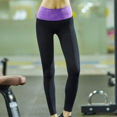 de30ce407b3a00 OEM ODM High Waist Purple Sublimation Print Yoga Capri Leggings For Women  Sports Wear $ 13~15/PCS MOQ: 300 PCS PER COLOR 4… | gym pants,yoga leggings  ...
