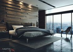 Make your mid-century bedroom a reality today with the best interior design ideas. - Best Home Decorating Ideas - Easy Interior Design and Decor Tips Modern Bedroom Decor, Master Bedroom Design, Home Bedroom, Interior Design Living Room, Modern Mens Bedroom, Bedroom Designs, Bedroom Ideas, Master Bedroom Minimalist, Modern Luxury Bedroom