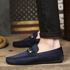 Mens Slip-On Loafer Style Shoes