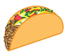 332 best fast food clip art images on pinterest clip art rh pinterest com  taco tuesday clipart free