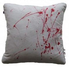 I NEED these throw pillows Dexter Halloween, Throw Pillows, Awesome, Interior, Toss Pillows, Cushions, Indoor, Decorative Pillows, Interiors