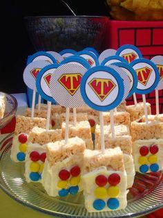 Superhero Birthday Party Ideas | Photo 1 of 45 | Catch My Party