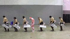 Attack on Titan/Shingeki no Kyojin cosplayers