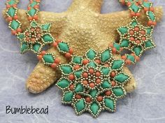 Inca Sun Necklace and Pendant Tutorial by BumblebeadCrafts on Etsy