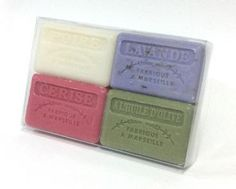 Have we solved some of your Christmas shopping with this BRAND NEW: 4 x 125g #frenchsoap Gift Set  Please share :)