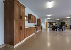 Geneva Cabinet Company, Lake Geneva WI Garage cabinetry #garage #cabinets #cabinetry #lakegeneva #medallioncabinetry #storage #organization #mancave #workshop