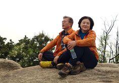 WIKITREE | 투표하고 아내와 등산 떠난 문재인 (사진 5장)