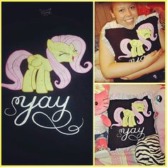Hey, I found this really awesome Etsy listing at http://www.etsy.com/listing/162105004/fluttershy-throw-pillow-made-from