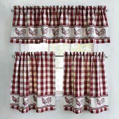 1000 Images About Rooster Kitchen Curtains On Pinterest Roosters Kitchen Curtains And Cute Cafe