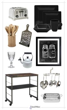 Industrial Kitchen Style//