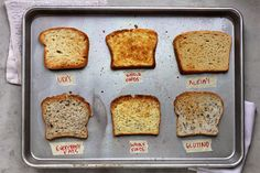 A Guide To The Best Gluten-Free Sandwich Bread . I think Udi's is the best, with Glutino as a close second Best Gluten Free Bread, Gluten Free Cooking, Gluten Free Recipes, Sin Gluten, Gluten Free Sandwiches, Gluten Free Living, Tasty, Yummy Food, Foods With Gluten