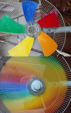 I think this is GRRREEEEAAAAATTTTT.  Great way to experience a rainbow whenever you want!
