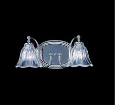 "View the Framburg FR 8172 2 Light 13"" Wide Bathroom Fixture from the Crystal Nouveau Collection at LightingDirect.com. Maybe"