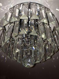 Luminária cristais