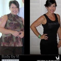 Susan Difabio's awesome ViSalus Body by Vi 90 Day Transformation results!