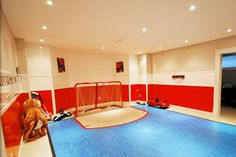 hockey inspired kid 39 s playroom hockey play room pinterest