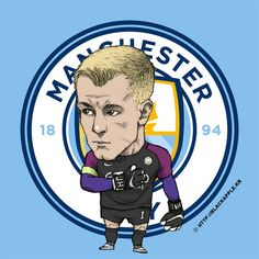 Manchester City No.1 Joe Hart Fan Art