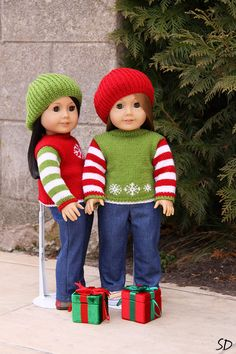 Custom listing reserved for by StassyDodge on Etsy Knitting Dolls Clothes, Crochet Doll Clothes, Knitted Dolls, Bitty Baby Clothes, Girl Doll Clothes, Girl Dolls, Cat Doll, Pixie, American Girl Clothes