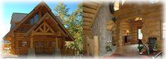 #Hearthstone Log and Timber Frame Homes: #Handcrafted MonsterLog