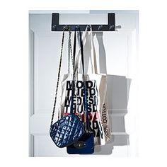 GRUNDTAL Hanger for door - IKEA  organise work stuff for the next day!