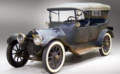 1914 Haynes Model 27 50HP Touring - Elwood Haynes created his first automobile in 1894. In 1905 he started the Haynes Automobile Co. in Kokomo, Indiana. He produced conservative, yet well built, cars for two decades. After a failed merger in 1923 Haynes was defunct in 1924. This 6 cyl. car w/ its novel 3 speed Vulcan electric transmission is in completely original condition (inc. top & side curtains) It was a one owner car until 1986 and has only 4,187 miles on it!