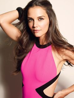 Katie Holmes in Michael Kors (Marie Claire)