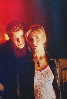 Buffy Summers (Sarah Michelle Gellar) y Angel (David Boreanaz): #nostalgianoventosa