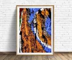 Abstract Art,, Art printable, Tree, Tree painted, Nature, Instant download 4 JPG