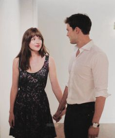 Jamie Dornan and Dakota Johnson Fifty shades of grey movie