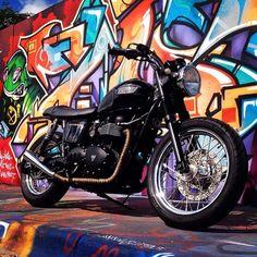 Bikes we love: Triumph Motorcycle #triumphmotorycle #americantriumph #bikers #motorcycles #motorcycle #caferacer #speedmerchant #twowheel #photooftheday #bonneville