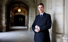 He may take his nanny canvassing but you won't catch him doing the school run. Jacob Rees-Mogg is proud to be a Tory toff Jacob Rees Mogg, The School Run, Interview, Suit Jacket, People, Game, Fashion, Moda, Fashion Styles