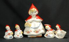 Hull Little Red Riding Hood Cookie Jar, etc. : Lot 127