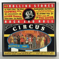 THE ROLLING STONES Framed Music Album Cover  Rock by MusicSellerz
