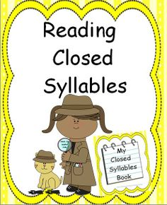 This reading unit provides 98 pages of the closed syllable type word lists. Also, a master list of all the words is included as a quick reference. A closed syllable is one of the six types of syllables in reading. The lists in this unit include words spelled using each vowel in conjunction with common phonograms. These lists of words will help students recognize the common patterns seen in closed syllables.
